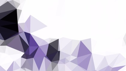 Abstract Purple and White Low Poly Background Template