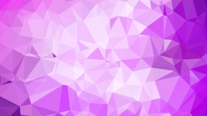 Abstract Purple and White Polygonal Background Image
