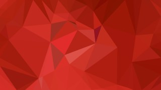 Red Polygonal Background Image