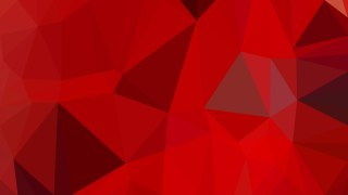 Abstract Red Polygon Pattern Background Vector Art