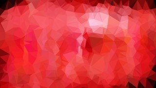 Abstract Red Low Poly Background Illustration