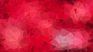 Abstract Red Low Poly Background Design Vector Graphic