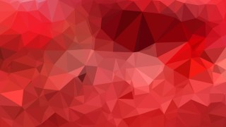 Red Polygon Triangle Pattern Background