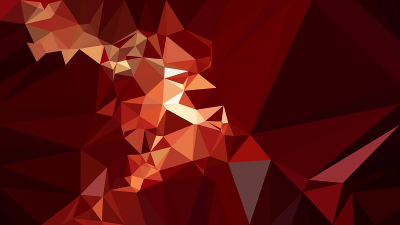 Red and Black Polygon Background Design