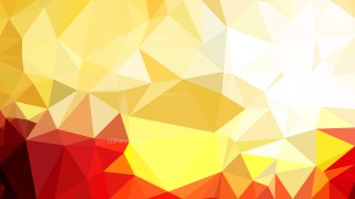 Red and Gold Low Poly Background