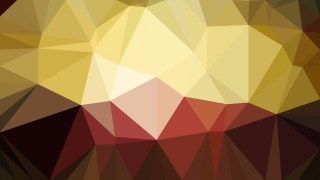 Red and Gold Polygonal Background Template