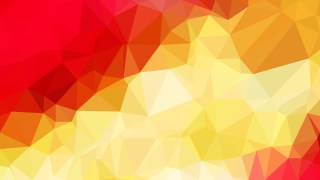 Red and Gold Polygon Triangle Background
