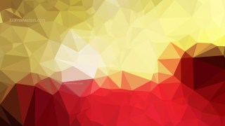 Abstract Red and Gold Polygon Background