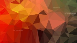 Abstract Red and Green Polygonal Background Design