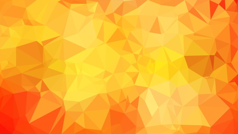Red and Orange Polygonal Triangle Background Vector