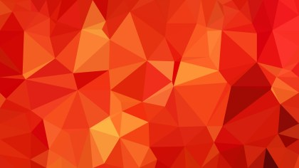 Red and Orange Polygonal Abstract Background