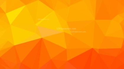 Red and Orange Polygon Abstract Background Illustrator