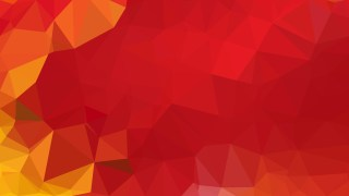 Red and Orange Triangle Geometric Background Vector