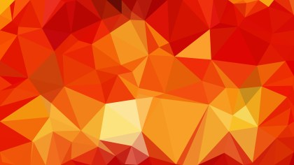 Red and Orange Triangle Geometric Background Illustration