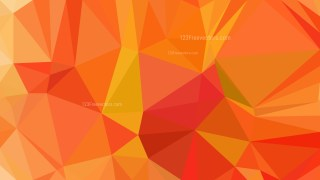Red and Orange Polygon Background Template