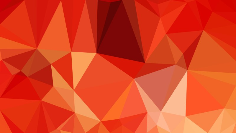 Red and Orange Polygon Pattern Background Vector Art