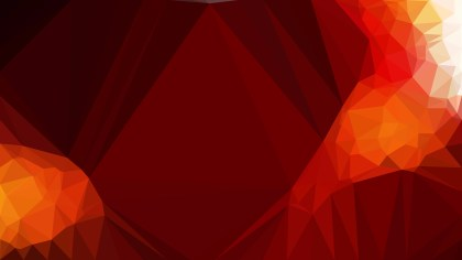 Red and Orange Polygon Background Graphic Design Vector Art