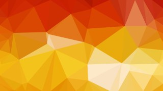 Abstract Red and Orange Polygon Pattern Background Vector Art