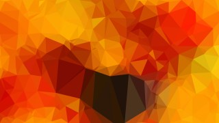 Red and Orange Low Poly Background Template Vector Graphic
