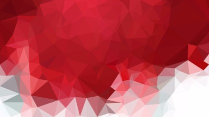 Abstract Red and White Polygon Background Template Graphic