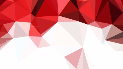 Abstract Red and White Polygonal Triangle Background Illustrator