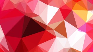 Red and White Low Poly Abstract Background Design Illustrator