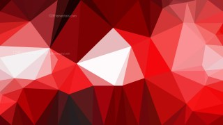 Red and White Low Poly Abstract Background Illustrator