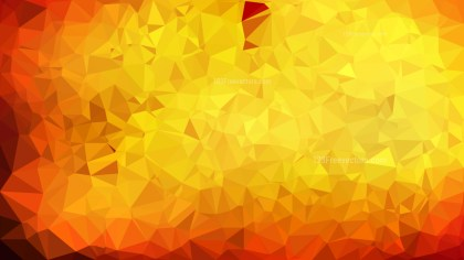 Abstract Red and Yellow Triangle Geometric Background Illustration