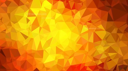Abstract Red and Yellow Polygon Background Design