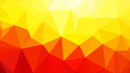 Abstract Red and Yellow Polygon Background Graphic Design