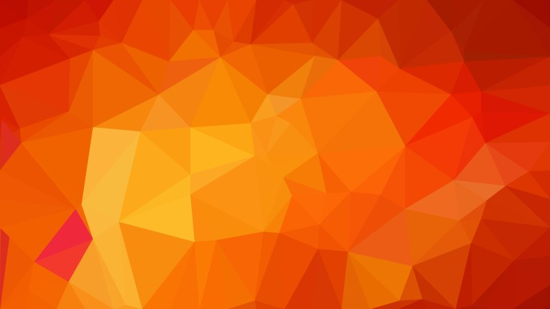Abstract Red and Yellow Polygon Background Graphic Design Image