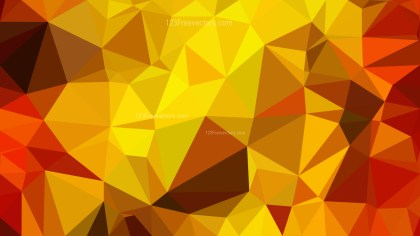Red and Yellow Low Poly Background