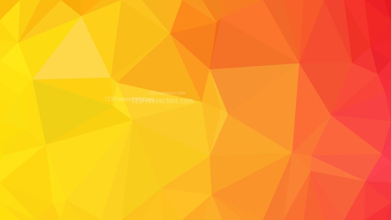 Red and Yellow Polygon Pattern Background