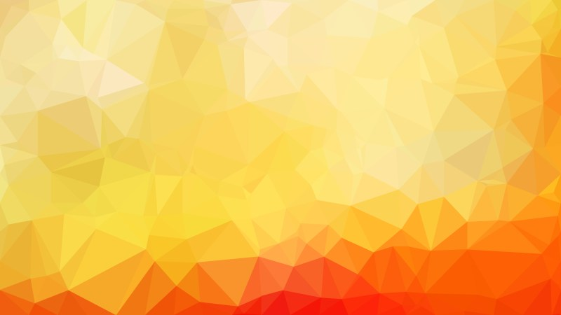 Abstract Red and Yellow Polygon Background Template Graphic