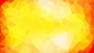 Abstract Red and Yellow Low Poly Background Template Design