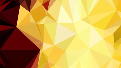 Red and Yellow Polygon Background Template