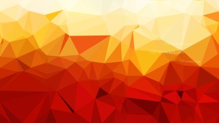 Abstract Red and Yellow Polygonal Background