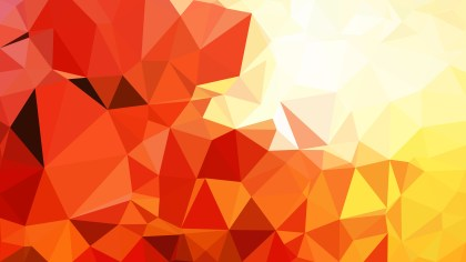 Red White and Yellow Geometric Polygon Background Graphic