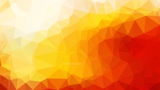 Abstract Red White and Yellow Polygonal Background Template