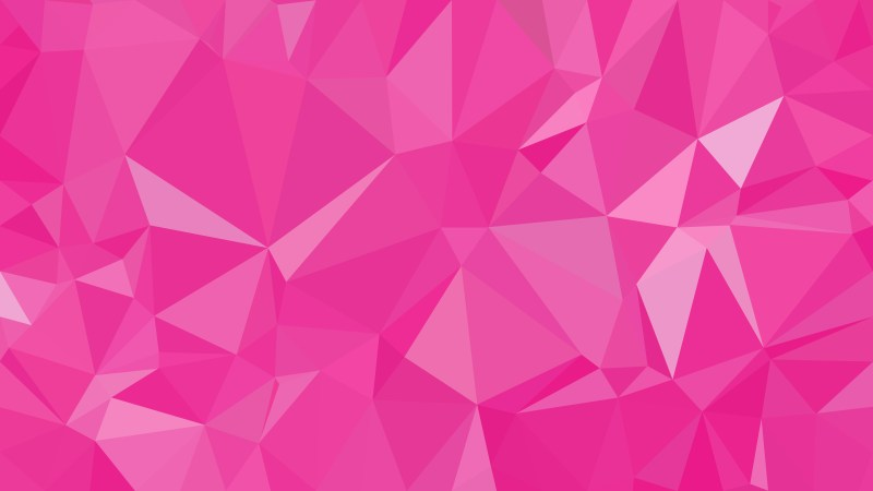 Abstract Rose Pink Low Poly Background Design Vector Graphic