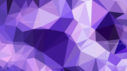 Abstract Violet Polygon Pattern Background
