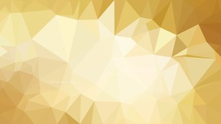 White and Gold Polygonal Background