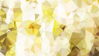Abstract White and Gold Polygon Background Template