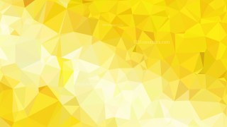White and Gold Polygonal Triangle Background Vector