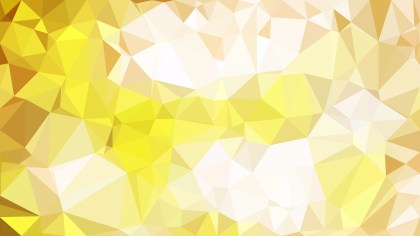 Abstract White and Gold Polygon Background Design
