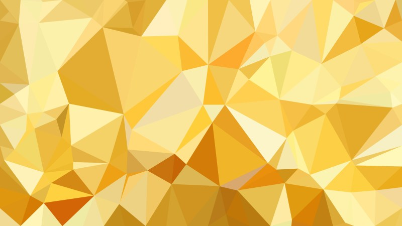 White and Gold Polygon Background Graphic Design