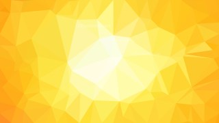 Yellow and White Low Poly Background Template