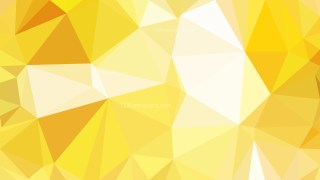 Abstract Yellow and White Polygon Background Graphic Design