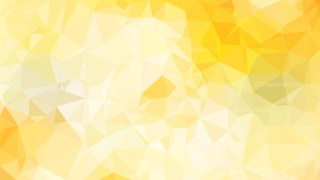Yellow and White Polygon Background Graphic Design Illustration