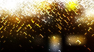 Abstract Black and Gold Square Modern Background Illustrator